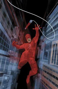 Conspiracy Theory: Is Marvel Planning to Reboot Daredevil? Daredevil Matt Murdock, Daredevil Elektra, Daredevil Series, Comic Book Artists, Comic Books Art, Comic Art, Stan Lee, Costume Rouge, Phil Noto
