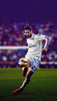 Isco Alarcón - Real Madrid Football Soccer, Madrid Football Club, Pure Football, Soccer Pro, Best Football Players, Football Is Life, Soccer Stars, Soccer Players, Cristiano Ronaldo