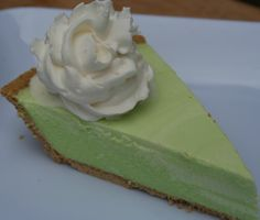 Key lime pie by drizzle me skinny