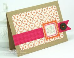 Card by Nichole Heady for Papertrey Ink (February 2012).