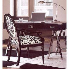 Glass top office desk world map decor pinterest office desks shop lexington furniture at carolina rustica gumiabroncs Image collections