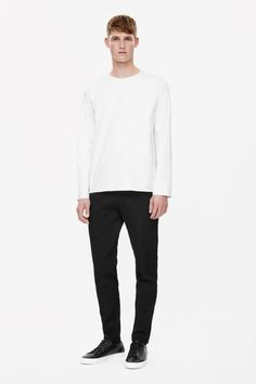 COS | Round-neck cotton shirt