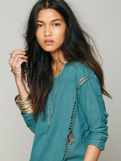 Free People We The Free Lunch Date Top at Free People Clothing Boutique