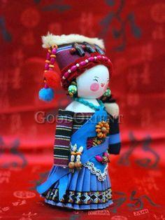 Chinese National Minority Doll---Pumi Clan