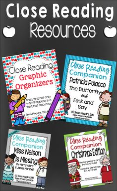 Resources for implementing Close Reading in your middle grades classroom.