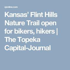 Kansas' Flint Hills Nature Trail open for bikers, hikers | The Topeka Capital-Journal