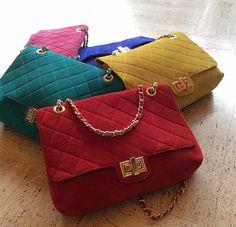 Le splendide borse in camoscio 21Rue