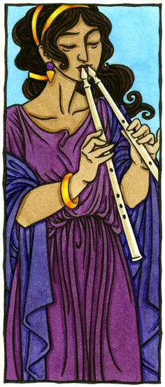 Euterpe, Muse of Lyric Poetry