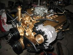 painted 350 engine - Google Search
