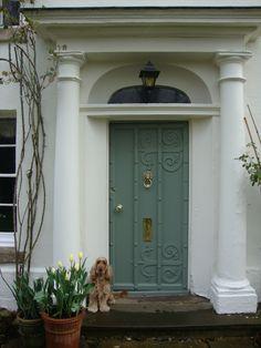 Audrey Utley - UK  Colour: White Tie, Card Room Green  Finish: Exterior masonry, Exterior Eggshell  8.10% of votes