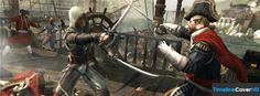 Assassins Creed Black Flag Sword Fight Facebook Timeline Cover Facebook Covers - Timeline Cover HD