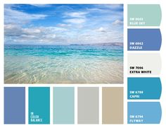 Océan Nuance de bleu