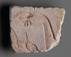 A Royal Hand, New Kingdom, Dynasty 18, reign of Akhenaten, ca. 1349–1336 B.C. Egyptian. The Metropolitan Museum of Art, New York.