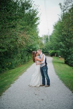 Outdoor Country Ohio Wedding - Rustic Wedding Chic