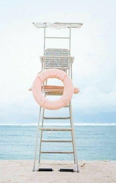 Beach Aesthetic, Blue Aesthetic, Deco Surf, Pink Summer, Summer Beach, Summer Breeze, Dress Summer, Summer Colors, Miami Beach