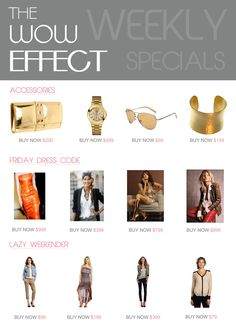 fashion newsletter design