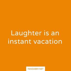 'Laughter is an instant vacation' - Sometimes all we need is a good laugh to…
