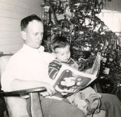 Read the Twas The Night Before Christmas by twinkle light from your Christmas tree.