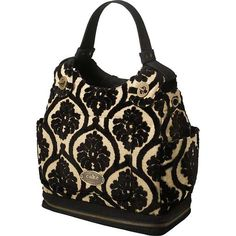 Cake by Petunia. Society Satchel---I've never used a diaper bag...but I could probably use this for everyday use?