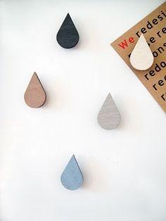 DIY | Raindrop Magnets