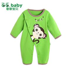 Find More Rompers Information about Carters Fashion Baby Boy Clothing Romper For Babies Newborn Brand Baby Girls Rompers Monkey Pattern Baby Girl Jumpsuit  Romper,High Quality clothing animals,China romper baby Suppliers, Cheap clothing from GG. Baby Flagship Store on Aliexpress.com