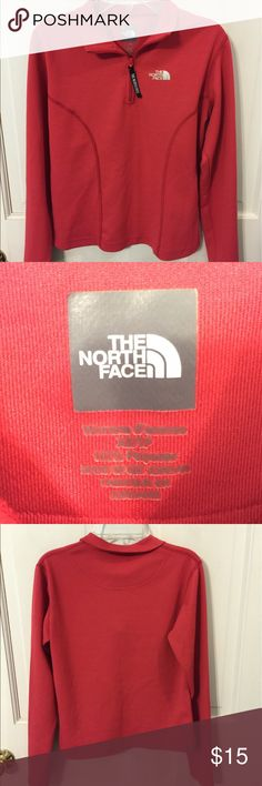 The North Face vaporwick half zip Light weight and comfortable , gently used but in good condition. Perfect for warm summer nights or sports wear. The North Face Tops Sweatshirts & Hoodies