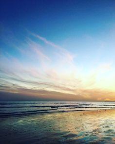 Sunset beach Bognor by Lizzie Reakes
