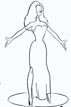 1000 images about disney roger rabbit jessica on for Roger rabbit coloring pages