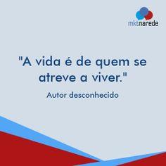 Não tenho medo dos novos desafios, se joga! #BomDia #BomTrabalho ;)