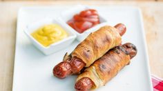 Hot dogs wrapped up in Crescent rolls, cooked over a campfire? Yes!