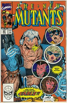 New Mutants #87, first appearance of Cable.