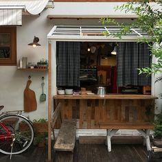 굿모닝 ✨ Building A House, Buildings, Shops, Loft, Coffee, Bed, Furniture, Home Decor, Kaffee