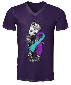 Groot Hug Breast Cancer Ribbon shirt, long sleeved, tank top Ribbon Shirt, V Neck Tee, Breast Cancer, Hug, Hoodies, Tank Tops, Tees, Long Sleeve, T Shirt