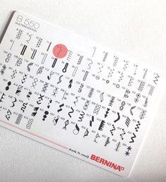 30 Nutzstiche für deinen Jersey Super Kräuselstich Tricks, Sewing Projects, Words, Super, Forget, Presents, Dots, Sew Mama Sew, Nice Things