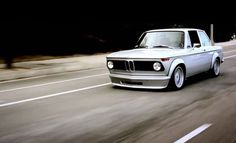 BMW M2- a 1976 BMW 2002, specially modified to receive a race-bred S14 engine from an early 90s M3.  Awesome!
