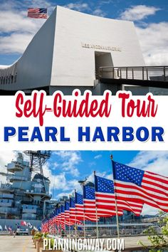 Can you visit Pearl Harbor without a tour or is it better to book a tour? That is probably what you are considering as you plan your visit to Pearl Harbor. Pearl Harbor National Memorial is a must-see as you plan your Hawaii itinerary. Hopefully, this post will answer all your questions that you may have when planning a trip to Pearl Harbor. | Planning Away @planningaway #oahuhawaii #pearlharbor #tourpearlharbor #oahufamilyvacation #planningaway
