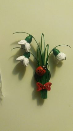 Art Crafts, Arts And Crafts, Paper Crafts, Baba Marta, Paper Quilling, Card Making, Easter, Spring, Creative