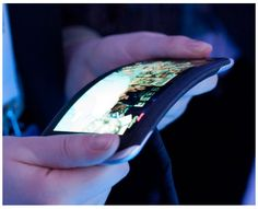 Bending a phone!  How could we use this?