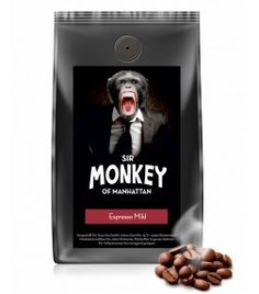 SIR MONKEY OF MANHATTAN Espresso Mild 500 g