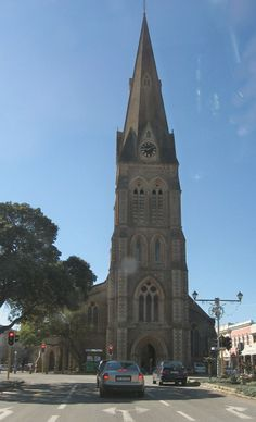 Church Square in Grahamstown Eastern Cape, South Africa