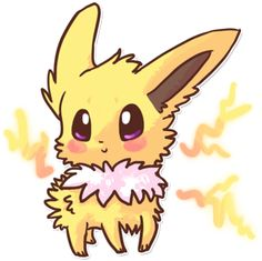 Jolteon by =Magicpawed on deviantART