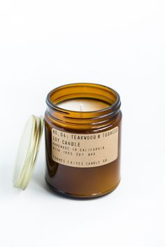 Back in Stock | Teakwood & Tobacco Soy Candle – Parc Boutique