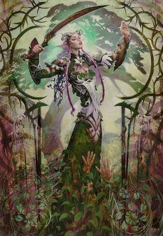 "mtgfan: "" Various Elves of Magic the Gathering "" Elf Characters, Fantasy Characters, Magic The Gathering, Dungeons And Dragons, Dark Fantasy, Fantasy Art, Fantasy Heroes, Fantasy Races, Game Art"