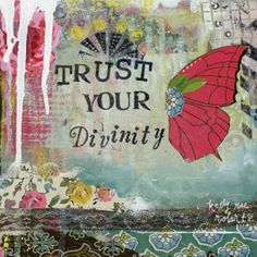 So here's to trusting our divinity. We are all such sacred light beings, and everything we do/create/dream/witness/experience matters in more ways than we can even know.
