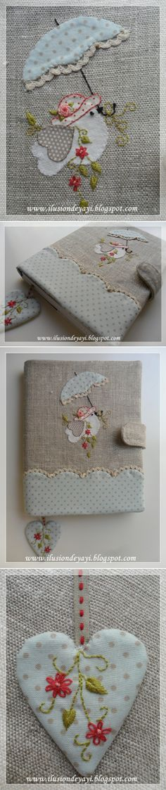 Such beautiful handwork! Applique Stitches, Applique Quilts, Applique Designs, Embroidery Applique, Cross Stitch Embroidery, Embroidery Patterns, Bird Applique, Sewing Crafts, Sewing Projects