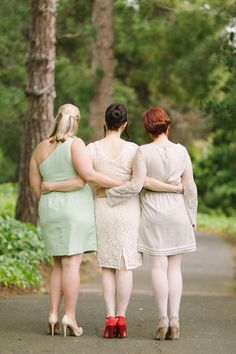 Chic & Intimate Red, Grey & Mint Green Wedding Part 1
