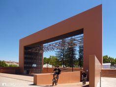 Pórtico do Largo José Afonso - Setúbal - Risco Arquitectura