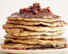 Bourbon Bacon Pancakes! Oh yes!