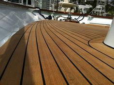 composite houseboat decking