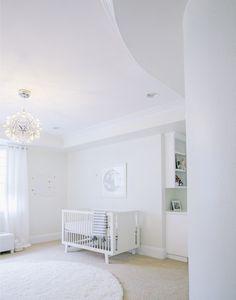 Little Crown Interiors All White Celestial Nursery | Little Crown Interiors Furniture Logo, Ikea Furniture, Baby Furniture, Custom Furniture, Cool Furniture, Bedroom Furniture, Furniture Disposal, E Design, Interior Design